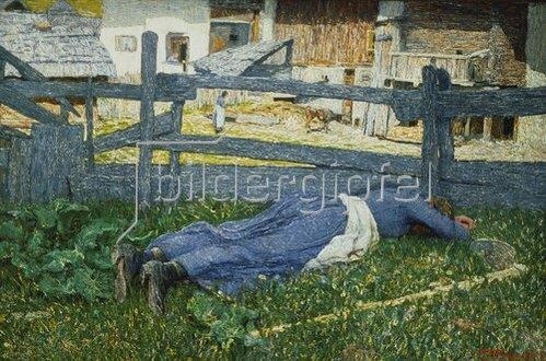 Giovanni Segantini: Schattiger Ruheplatz. 1892