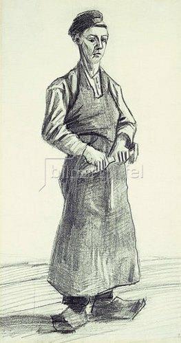 Vincent van Gogh: Der junge Schmied (Le Garcon Forgeron). 1882