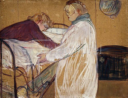 Henri de Toulouse-Lautrec: Zwei Frauen machen ein Bett. 1891