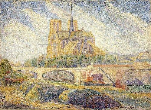 Hippolyte Petitjean: Notre Dame. Um 1895