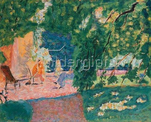 Pierre Bonnard: Gespräch in einem südlichen Garten (Le Bosquet).
