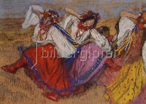 Edgar Degas: Russische Tänzerinnen. Um 1895