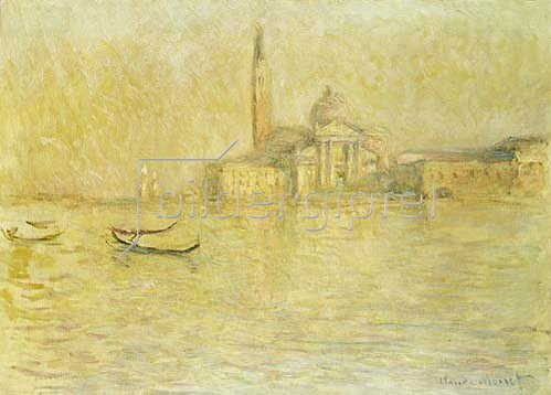 Claude Monet: Venedig, San Giorgio Maggiore.