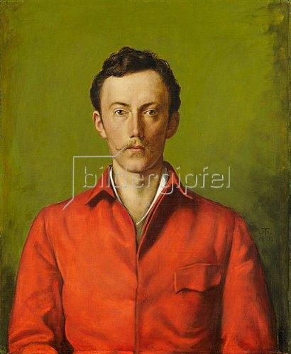 Hans Thoma: Bildnis Prinz Friedrich Karl von Hessen. 1892