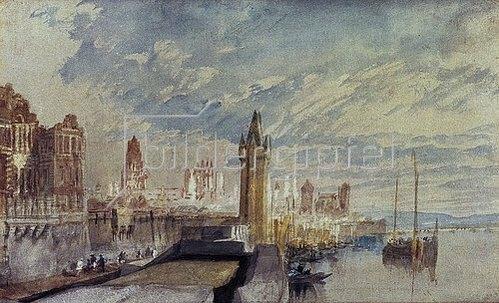 Joseph Mallord William Turner: Mainz am Rhein.