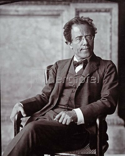 Moritz Nähr: Der österreichische Komponist Gustav Mahler. 1907.