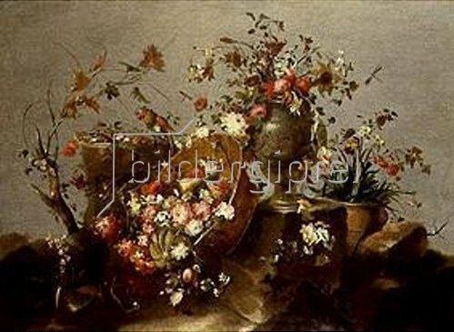 Francesco Guardi: Blumenstilleben.