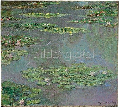 Claude Monet: Nymphéas (Seerosen). 1905
