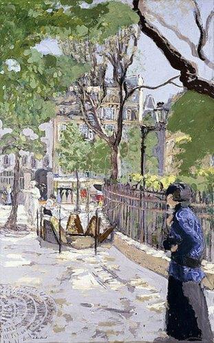 Edouard Vuillard: Place Vintimille. Ca. 1915