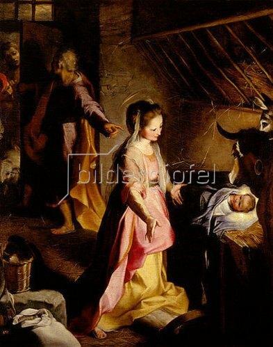 Federigo Barocci: Geburt Christi.1597