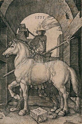 Albrecht Dürer: Das kleine Pferd. 1505