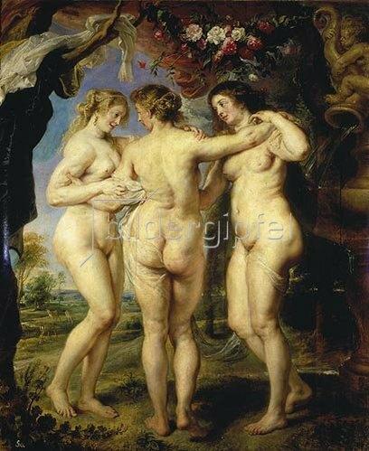 Peter Paul Rubens: Die drei Grazien.