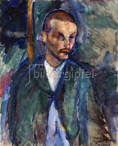 Amadeo Modigliani: Der Bettler von Livorno (Mendiant de Livorne). 1909