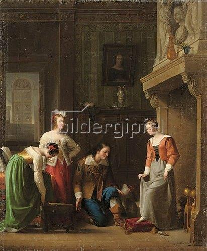 Jean-Antoine Laurent: Aschenputtel: passt genau! 1818