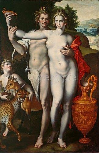 Bartholomäus Spranger: Bacchus und Venus. Um 1596/97