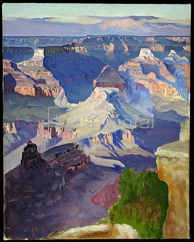 Gunnar Widforss: Grand Canyon.