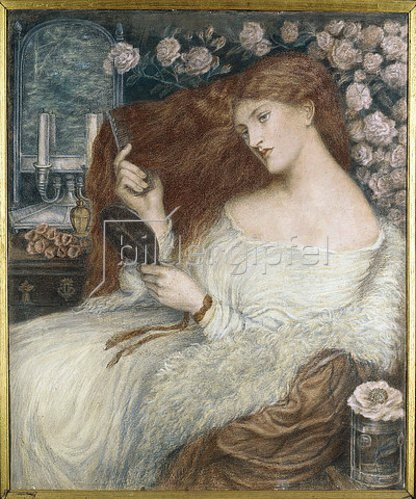 Dante Gabriel Rossetti: Lady Lilith.