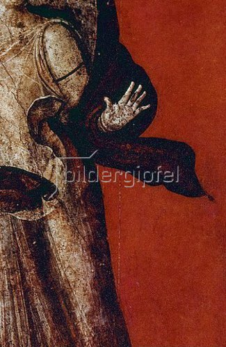Anonym: Detail des Freskos mit der Darstellung dionysischer Mysterien. 1. Jh. n. Chr.