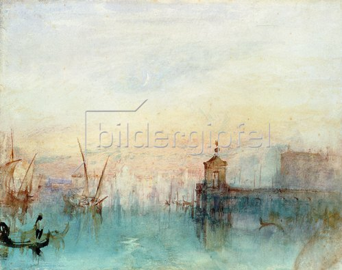 Joseph Mallord William Turner: Venedig mit erster Mondsichel.