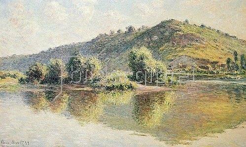 Claude Monet: Die Seine bei Port-Villez. 1883