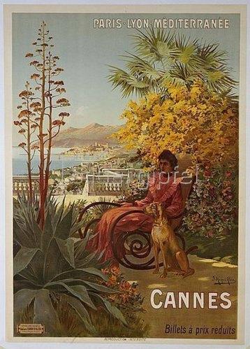 Frederic Hugo d'Alesi: Cannes. Um 1910