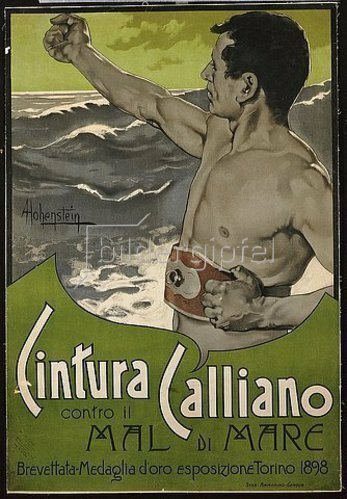 Adolf Hohenstein: Cintura Calliano. 1898