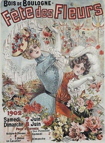 Louis Galice: Fête des Fleurs. 1902
