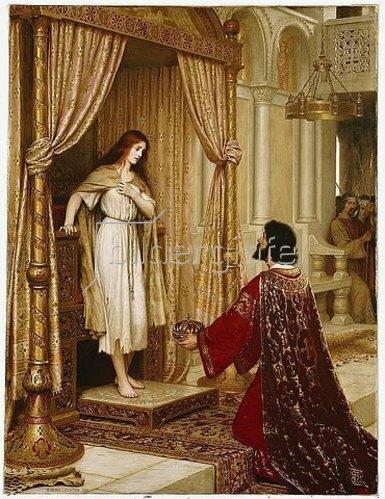 Edmund Blair Leighton: A King and a Beggar Maid. 1898