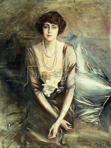 Giovanni Boldini: Mrs. George McFadden.