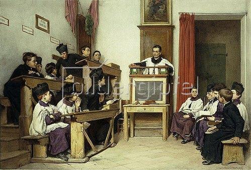 Ludwig Johann Passini: Die Lateinklasse. 1869
