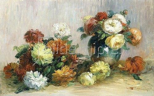 Auguste Renoir: Blumengebinde (Gerbes De Fleurs). Ca. 1880