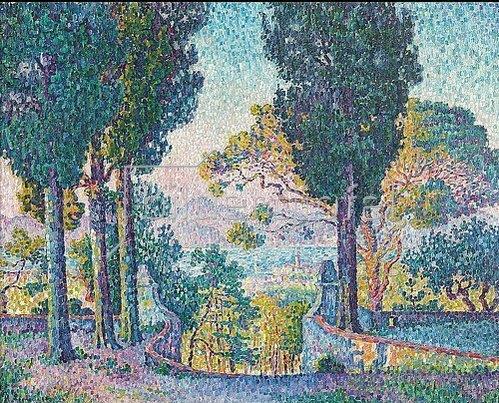 Paul Signac: Sainte-Anne (Saint-Tropez). 1905