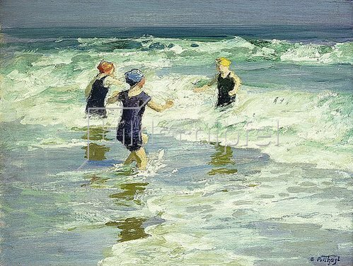 Edward Henry Potthast: Three of a Kind.
