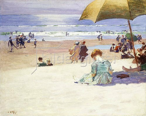Edward Henry Potthast: Hourtide.