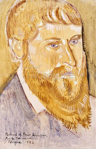 Emile Bernard: Porträt von Paul Serusier. 1893