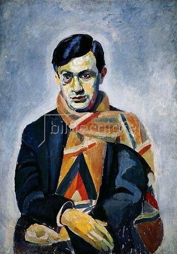 Robert Delaunay: Tristan Tzara.