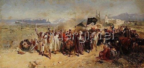 Nikolai Semenovich Samokish: Schiitische Muslime gedenken dem Märtyrertod von Hussein.