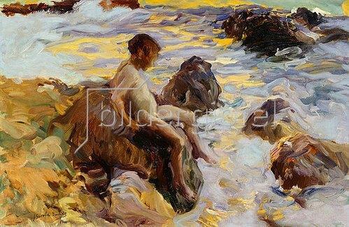 Joaquin Sorolla: Junge in den Wellen, Javea. 1900
