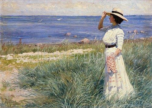 Paul Fischer: Blick zum Meer. 1910