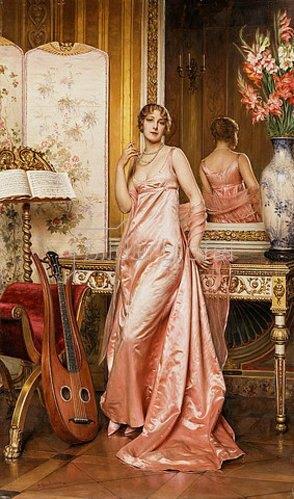 Joseph Frederick Charles Soulacroix: Eine elegante Dame.