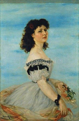 Victor Müller: Bildnis der Berta Gerson. 1863