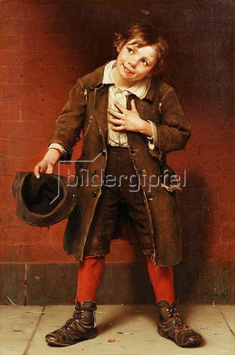 John George Brown: Bettlerjunge. Um 1885-87