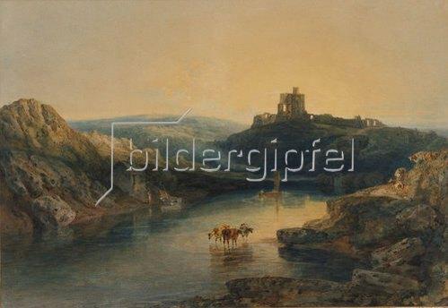 Joseph Mallord William Turner: Morgenstimmung am Norham Castle.
