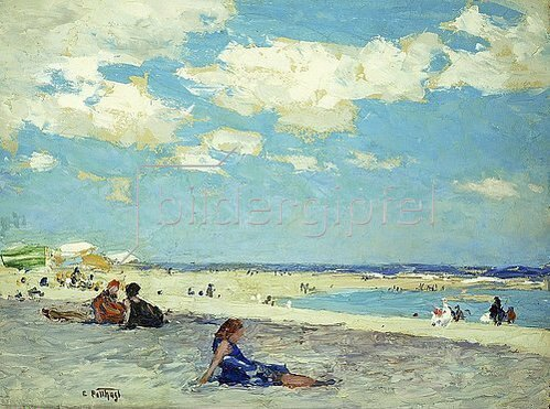 Edward Henry Potthast: Long Beach.