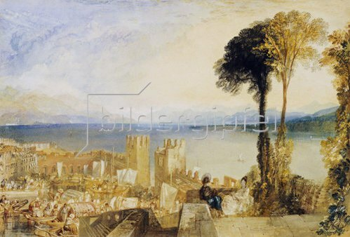 Joseph Mallord William Turner: Ascona am Lago Maggiore.