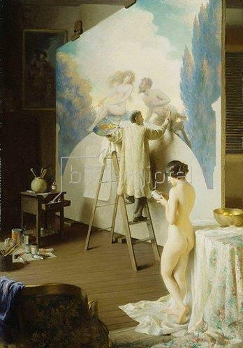 William Worcester Churchill: Der Maler. 1913