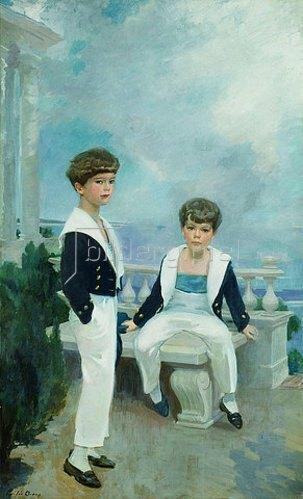 Cecilia Beaux: Craig Combes Velie und John Deere Velie. Um 1913