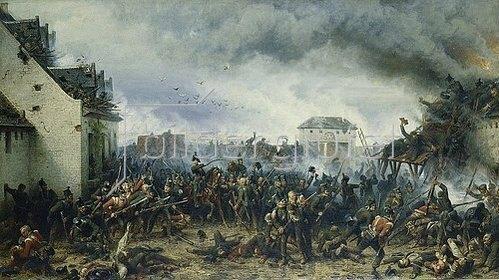 Adolf Northen: Die Verteidigung des Meierhofes La Haye Sainte bei Waterloo 1815. 1858.