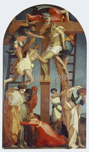 Rosso Fiorentino (Giovanni-B. di Jacopo): Kreuzabnahme. 1521.