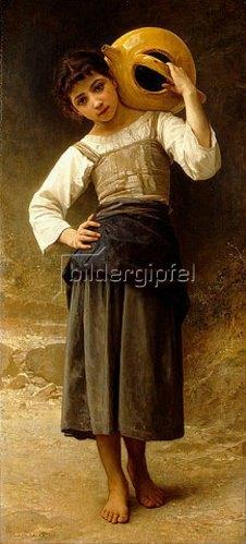William Adolphe Bouguereau: Mädchen mit Wasserkrug.